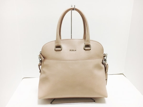 FURLA(フルラ) ハンドバッグ - - ピンク レザー