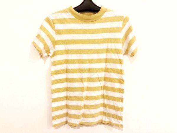 ロンハーマン 半袖Tシャツ サイズS レディース イエロー×アイボリー ボーダー