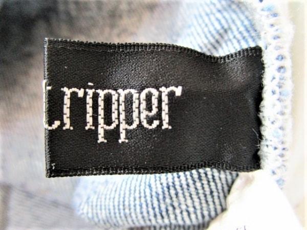 candystripper(キャンディストリッパー) ジーンズ サイズ2 M レディース ブルー×白