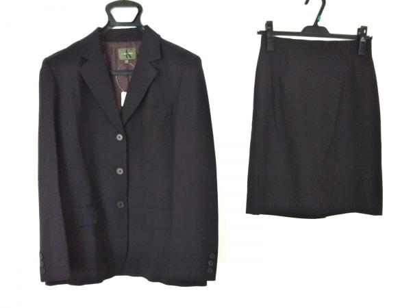 CalvinKlein(カルバンクライン) スカートスーツ レディース美品  ボルドー