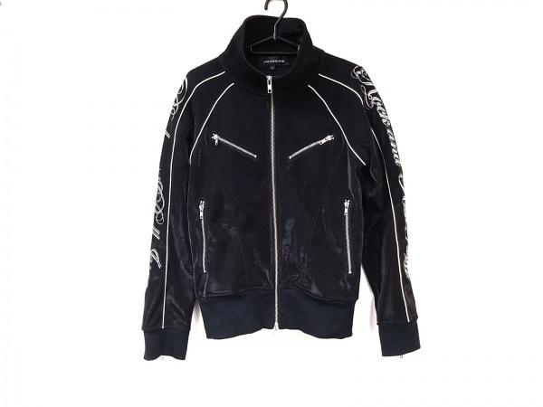 ジャックローズ ブルゾン サイズ3 L メンズ美品  黒×アイボリー×シルバー 春・秋物