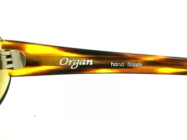 organ(オルガン) サングラス美品  グレー×ブラウン プラスチック