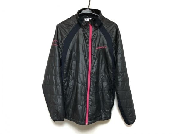 OAKLEY(オークリー) ダウンジャケット サイズL メンズ美品  黒 春・秋物