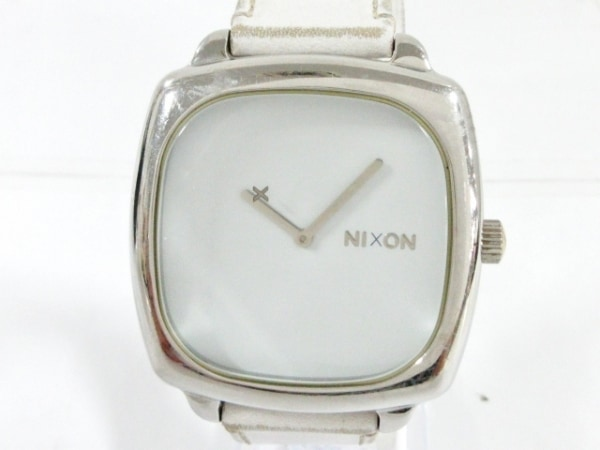 NIXON(ニクソン) 腕時計 THE SHUTTER - メンズ 白