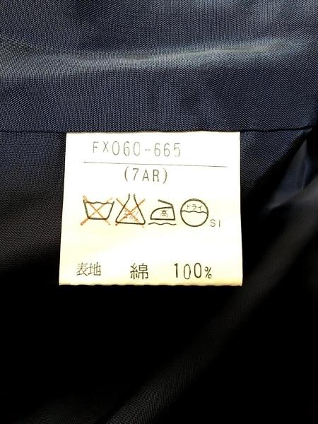 バーバリーズ スカート サイズ7AR S レディース ネイビー×オレンジ×マルチ