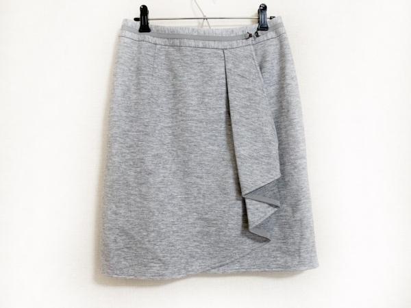 NARACAMICIE(ナラカミーチェ) 巻きスカート サイズ1 S レディース美品  ライトグレー
