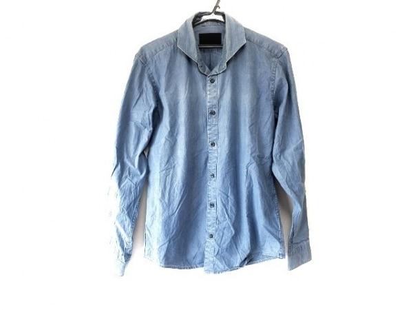 jun hashimoto(ジュンハシモト) 長袖シャツ サイズL メンズ ブルー