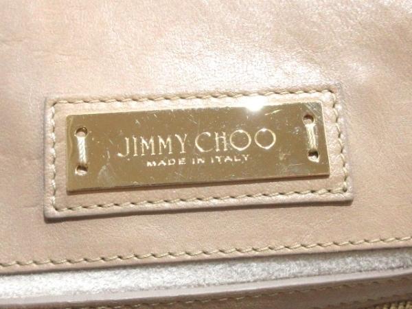 JIMMY CHOO(ジミーチュウ) ハンドバッグ ライリー グレージュ レザー