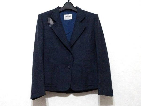 JUN ASHIDA(ジュンアシダ) ジャケット サイズ7 S レディース美品  ネイビー