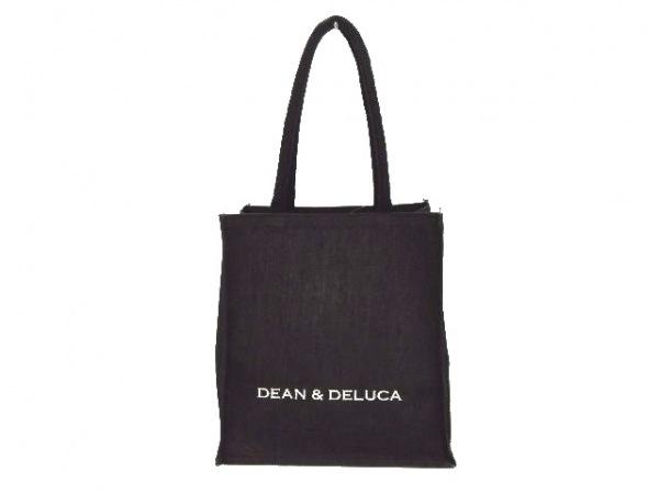 DEAN&DELUCA(ディーンアンドデルーカ) トートバッグ 黒 麻