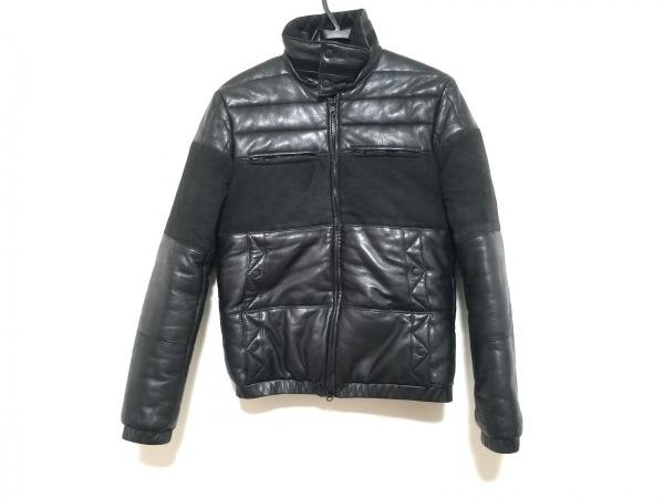 ミスターハリウッド ブルゾン サイズ36 S メンズ美品  黒 レザー/冬物