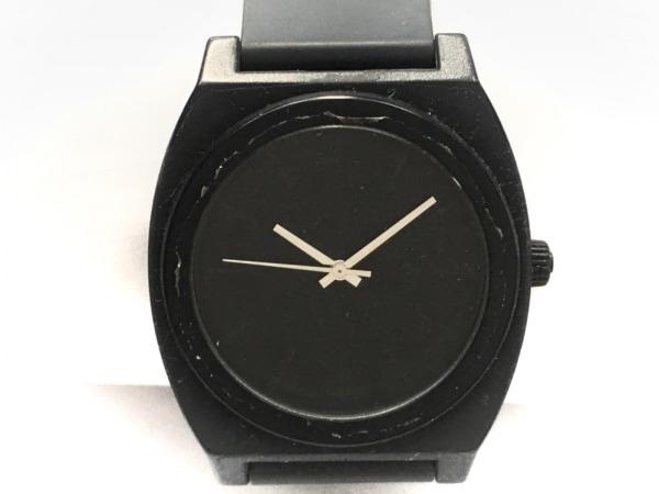NIXON(ニクソン) 腕時計 THE TIME TELLER P - レディース ラバーベルト 黒