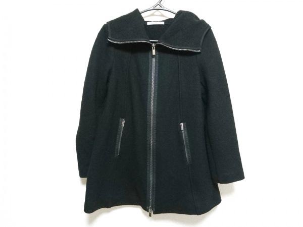 PENNYBLACK(ペニーブラック) コート サイズUSA 06 レディース 黒 ジップアップ/冬物