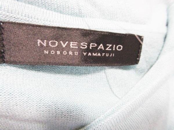 ノーベスパジオ ノースリーブカットソー サイズ38 M レディース ライトブルー
