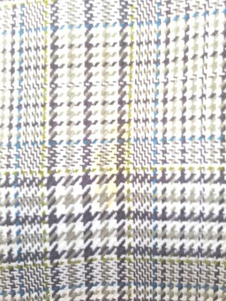 レリアン スカートスーツ サイズ7 S レディース アイボリー×ダークブラウン×マルチ