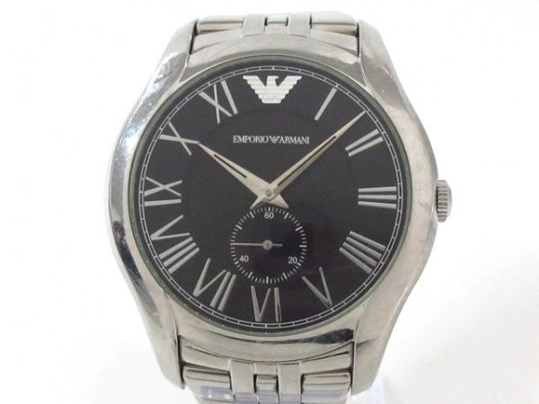 EMPORIOARMANI(アルマーニ) 腕時計 AR-1706 メンズ 黒