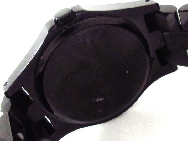 MARC BY MARC JACOBS(マークジェイコブス) 腕時計美品  MBM8601 レディース 黒