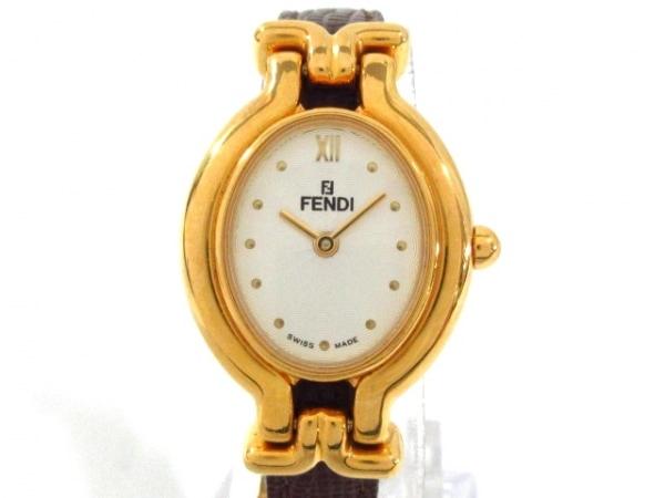 FENDI(フェンディ) 腕時計 640L レディース 白