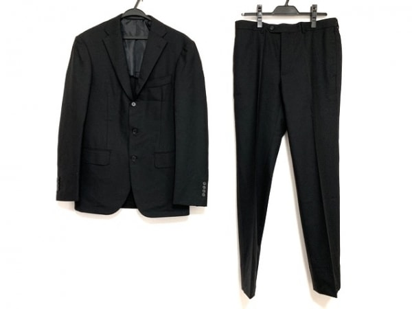 インターナショナルギャラリービームス シングルスーツ サイズ46 XL メンズ 黒