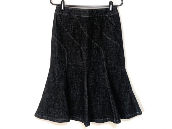 INGEBORG(インゲボルグ) スカート サイズS レディース美品  ダークグレー デニム
