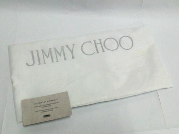 JIMMY CHOO(ジミーチュウ) ショルダーバッグ美品  - ネイビー スエード