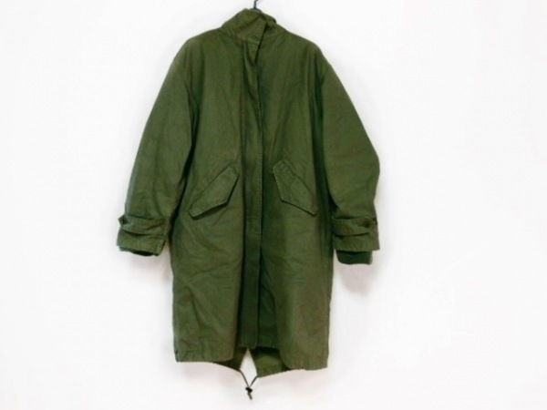 DKNY(ダナキャラン) コート サイズS メンズ カーキ 冬物