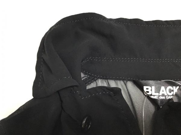 ブラックコムデギャルソン コート サイズM レディース 黒 AD2010/シースルー/春・秋物