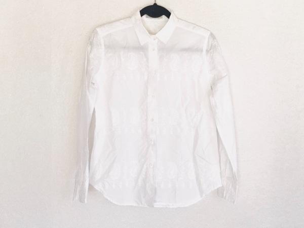 ETRO(エトロ) 長袖シャツブラウス サイズ42 M レディース 白 刺繍