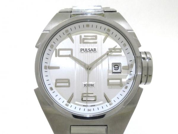 PULSAR(パルサー) 腕時計 VX42-X183 メンズ シルバー