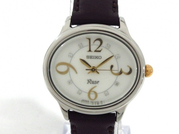 SEIKO(セイコー) 腕時計美品  7N01-0DH0 レディース ホワイト