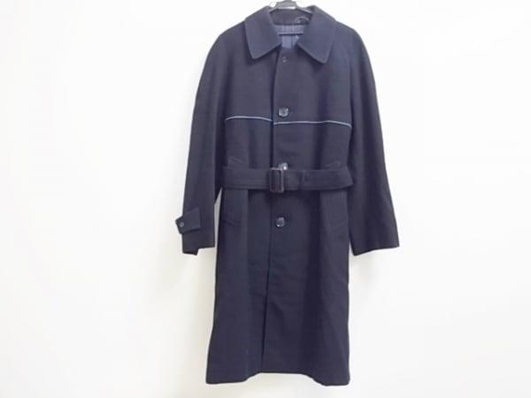 LANVIN(ランバン) コート サイズH50 メンズ美品  ダークネイビー 冬物