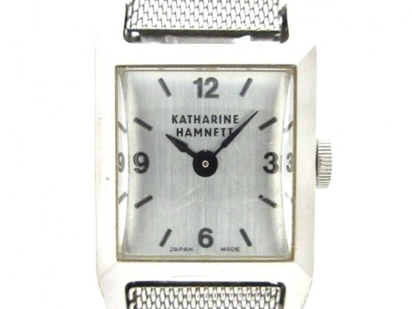 KATHARINEHAMNETT(キャサリンハムネット) 腕時計 - KH-8002 レディース シルバー