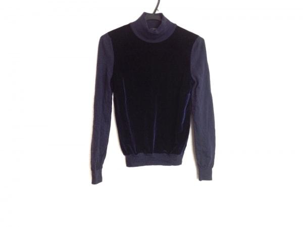 Le verseaunoir(ルヴェルソーノアール) 長袖セーター サイズ38 M レディース ネイビー