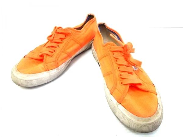SUPERGA(スペルガ) スニーカー メンズ オレンジ キャンバス