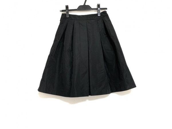 ランバンオンブルー スカート サイズ38 M レディース美品  ダークグレー ナイロン