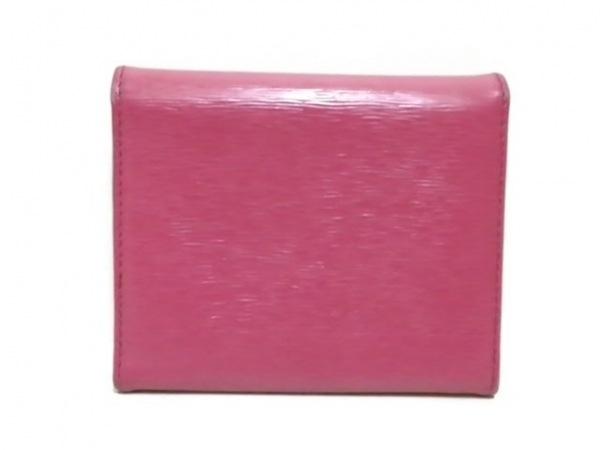 PRADA(プラダ) 3つ折り財布 - 1MH176 ピンク レザー 2