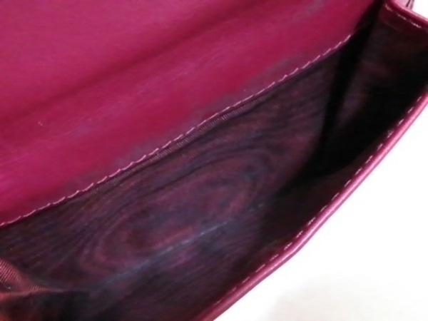PRADA(プラダ) 3つ折り財布 - 1MH176 ピンク レザー 4