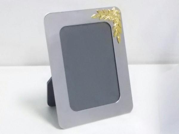 mikimoto(ミキモト) 小物美品  シルバー×ゴールド×マルチ 写真立て