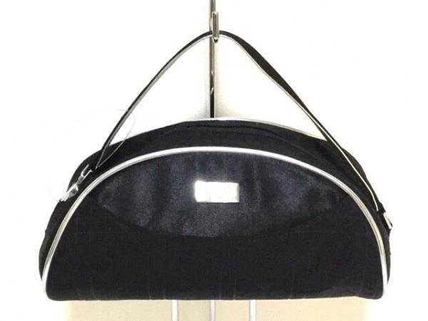 ディオールビューティー ハンドバッグ美品  カナージュステッチ 黒×シルバー