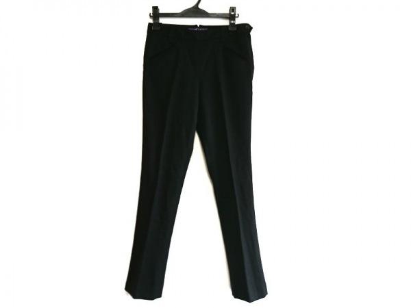 ラルフローレンコレクション パープルレーベル パンツ サイズ2 M レディース 黒