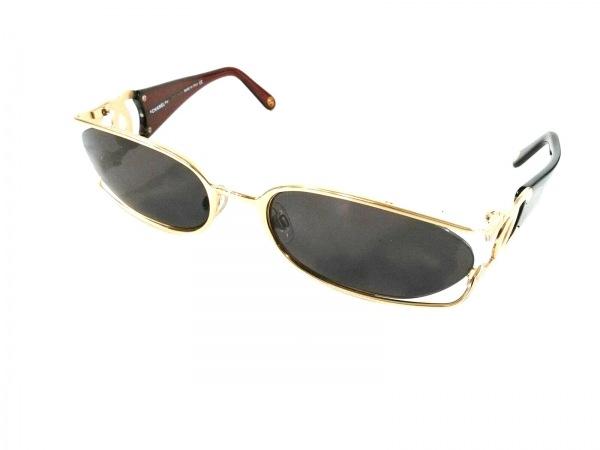 CHANEL(シャネル) サングラス美品  4023 ブラウン×黒×ゴールド ココマーク