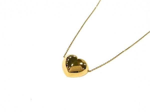 Enasoluna(エナソルーナ) ネックレス美品  シルバー ゴールド ハート