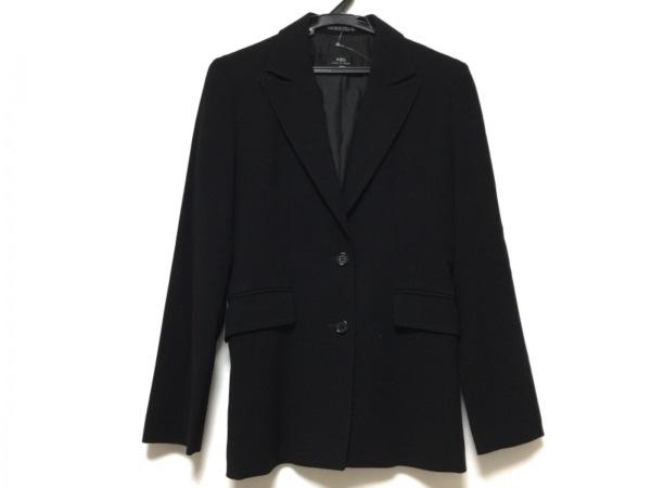 INED(イネド) ジャケット サイズ9 M レディース 黒 肩パッド