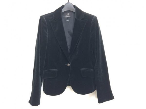 23区(ニジュウサンク) ジャケット サイズ38 M レディース 黒 ベロア
