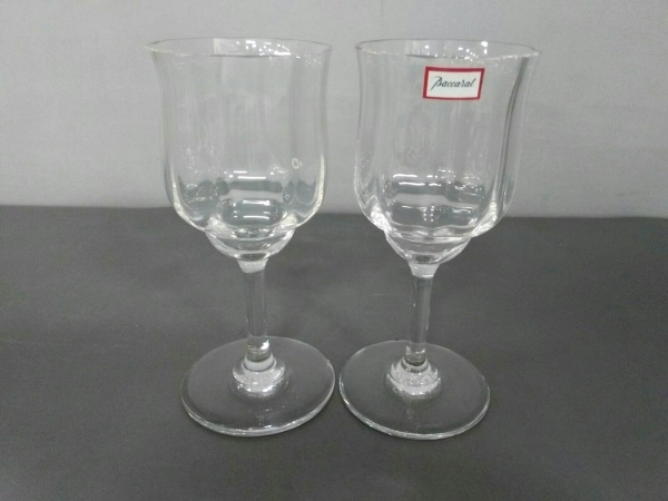 Baccarat(バカラ) ペアグラス新品同様  - クリア クリスタルガラス