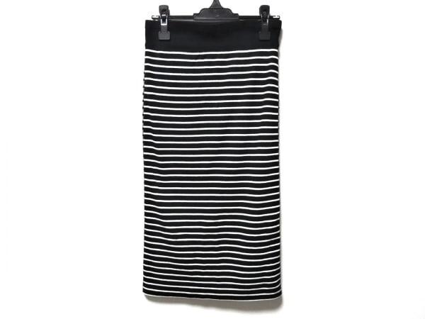 PLAIN PEOPLE(プレインピープル) スカート サイズ3 L レディース 白×黒