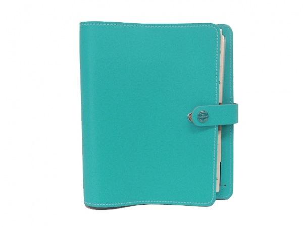 Filofax(ファイロファックス) 手帳 ザ・オリジナル ターコイズブルー A5 レザー