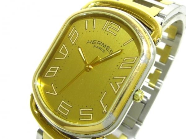 HERMES(エルメス) 腕時計 ラリー - レディース ゴールド