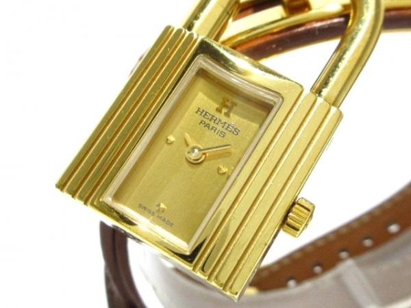 HERMES(エルメス) 腕時計 ケリーウォッチ - レディース ゴールド