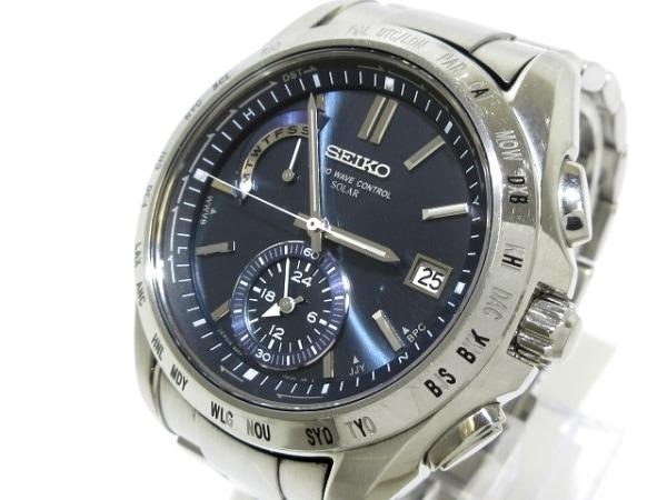 SEIKO(セイコー) 腕時計 ブライツ 8B54-0AA0 メンズ ダークネイビー